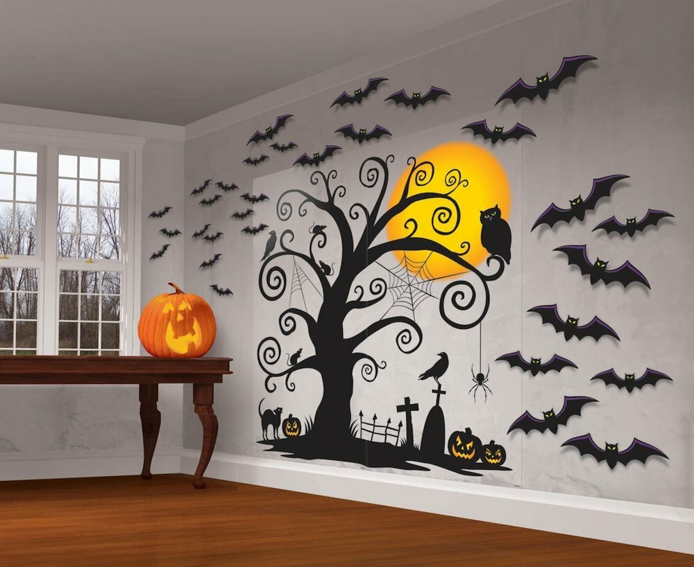 How to make Halloween decorations with your own hands